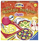 Ravensburger 29896 Classic Junior Mandala ®- Set creativo de dibujoy diseño motivos clásicos [Importado de Alemania]