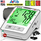 #7: Dr. Trust Atrial Fibrillation Automatic Digital Blood Pressure Monitor Achine (Includes Adapter, Carry Bag, Batteries, Thermometer)