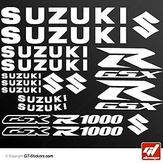 Aufkleber Suzuki GSX 1000–Weiß–GSXR, GSX R, Sticker, selbstklebend, Aufkleber, gt-design