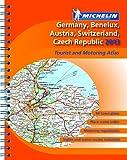 Germany, Benelux, Austria, Switzerland, Czech Republic 2013 - A4 spiral-bound atlas (Michelin Tourist and Motoring Atlases)