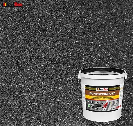 Buntsteinputz Mosaikputz BP100 (Anthrazit) 25kg Absolute ProfiQualität