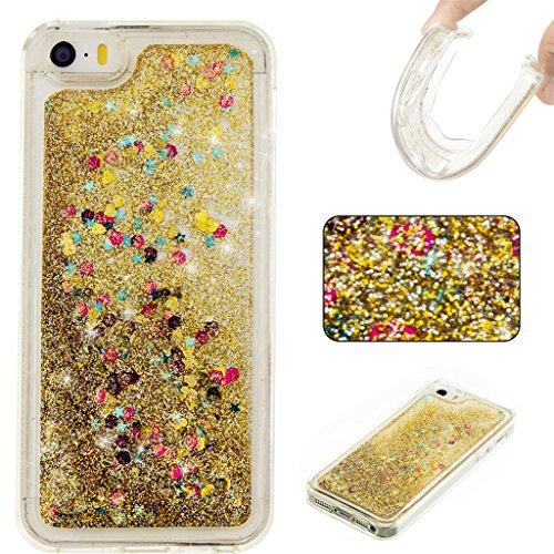 iphone-5c-funda-bling-arena-movediza-lentejuelas-mutouren-case-3d-fluido-liquido-quicksand-estrellas