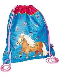 Die Spiegelburg 14926 Bolsa de Cuerdas Bolsa de Gimnasio Mi Pequeño Pony Azul 31x34cm