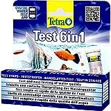 Tetra test 6in1 watertest, voor het aquarium, snelle en eenvoudige controle van de waterkwaliteit, 1 doos (25 stuks)