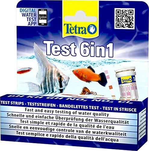 Tetra Test 6in1 25 strips