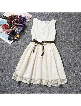 Ropa de niñas, Morbuy Encaje Hueco Vestidos de Fiesta de Princesa Super Lindo Diseñador de Moda Vestidos de Niñas...