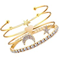 Jewels Galaxy Women's Fashion Gold Plated Brilliant Bracelet for Women/Girls (Style 2)