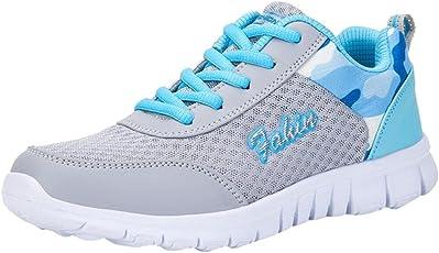 Sneaker Damen Mode Sportschuh Frauen Schuhe Mesh Schuhe Freizeitschuhe Outdoor Wanderschuhe Wohnungen Schuh Sportschuhe SanKidv