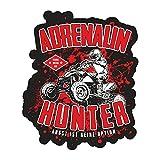 Aufkleber Quad Adrenalin Hunter (Wetterfest)