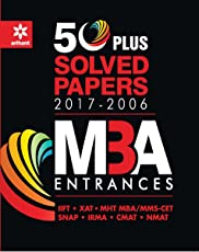 50 Plus Solved Papers MBA Entrances