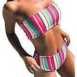 Bikini Talle Alto Push Up Mujer Trajes de Ba/ño Flores de Dos Piezas Biquini Braga Alta Vikini Ba/ñador Piscina Playa Trikini Mujeres Conjunto de Bikinis Cintura Alta Se/ñora Ba/ñadores Natacion