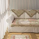 Unimall 4500876 Sofa Überwurf Sofaschoner 110 x 160 cm Patchwork Shabby