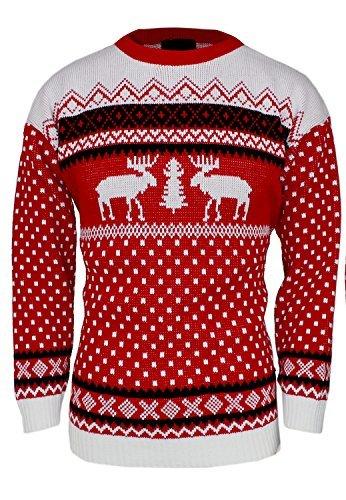 Herren  s XMas Neuheit Gestrickt Weihnachten Rentier Pullover Jumper  (jmj-0005) Gr. Infos zu den Nutzungsrechten. Christmas Sweater ... 97620de774