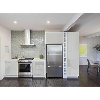 Amazon.de: Aufkleber für Küchenschränke 63x500cm GLANZ - Folie aus ...