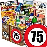 DDR Produkte | 75 Geburtstag | Geschenk Idee Opa | Spezialitäten Set