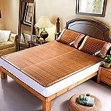 Bambus-Schlafmatten Einzel-und Doppel-Seiten der Matte kann gefaltet werden Studenten Bambus-Matte (Multi-Size optional) ( größe : 180*200cm )