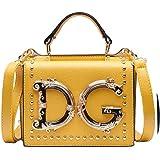 Luxuriöse, modische Handtasche mit Nieten, Umschlagtasche für Damen, Umhängetasche, Kuriertasche