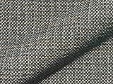 Raumausstatter.de Möbelstoff SALZACH 836 Karomuster grau