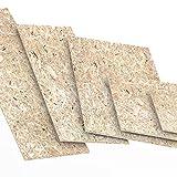22mm OSB/3 Panneau de particules orientées 500 x 200 mm résistant à l'humidité sur la norme EN 300 Panneaux d'OSB pour application agencement décoration ou constructions bois Logueurs jusqu'à 2000mm