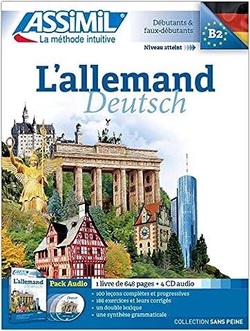L'Allemand Pack CD (livre+4 CD