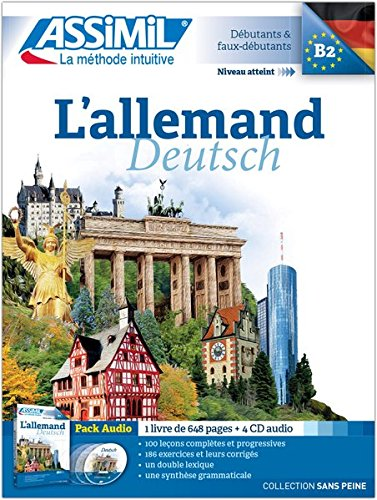 L'Allemand Pack CD (livre+4 CD audio)