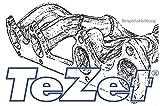 TeZet Fächerkrümmer - Nr. 10 C0215 - Leistungssteigerung für Serien- oder Sportauspuff