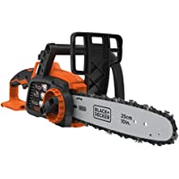 BLACK+DECKER 18V Cordless 25 cm Chainsaw - Bare Unit (Battery not Included)
