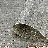 YSHIELD Abschirmstoff SILVER-SILK | HF+NF | Breite 130 cm | 1 Laufmeter