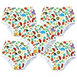 Bambino Mio, Potty Training Pants, Tropical Island, 2-3 Years, 5 Pack