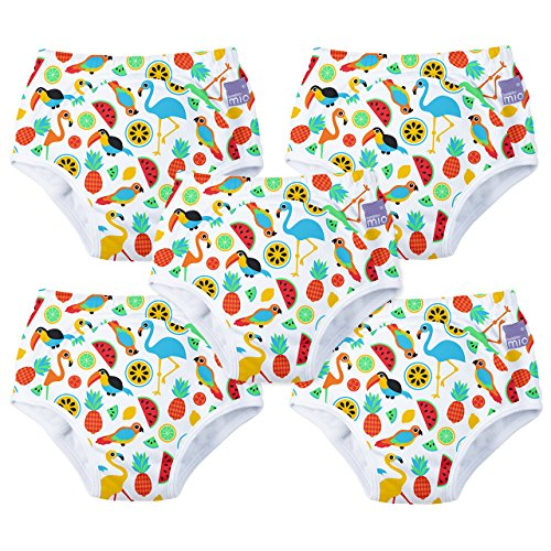 Preisvergleich Produktbild Bambino Mio, Potty Training Pants, Tropical Island, 2-3 Years, 5 Pack