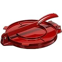 Venus valink Presse à tortilla 20 cm en fonte d'aluminium pour tortilla, tortilladora, farine, pain plat, tacos, outil…