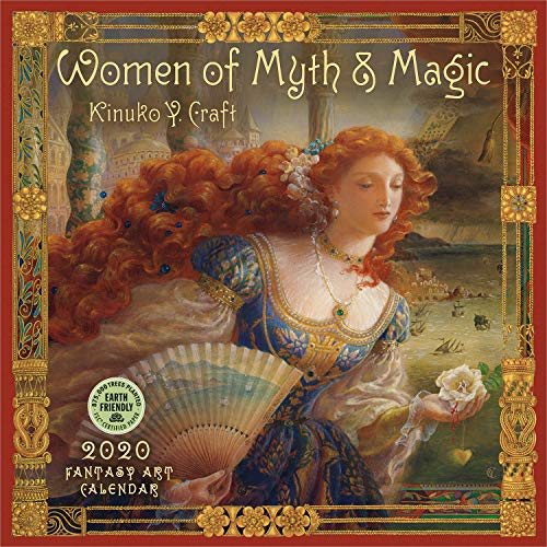 Women of Myth & Magic 2020 Wall Calendar: A Fantasy Art Calendar by Kinuko Y. Craft