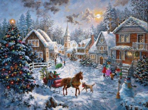 SunsOut 19236 - Buon Natale - Puzzle 1000 pezzi