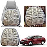 #10: Vheelocityin Beige Lumbar Mesh ventilation Back Support For Honda City 2017