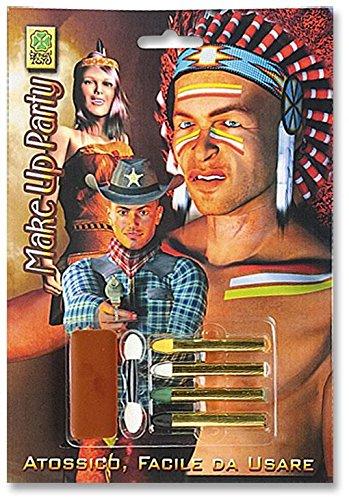 Horror-Shop Indianer Schminkset