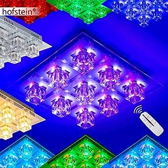 deckenleuchte mit led farbwechsler und fernbedienung beleuchtung. Black Bedroom Furniture Sets. Home Design Ideas