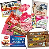 Reizende Kultsüßigkeiten aus der DDR - Bonbons Bodeta Himbeere, Mintkissen Viba, Zetti Schlager Süßtafel, uvm. +++ INKLUSIVE Karte
