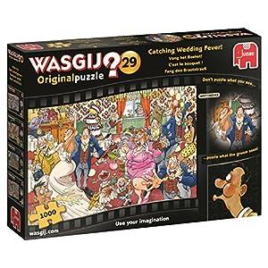 Jumbo Wasgij Original 29 - Catching Wedding Fever 1000 pcs Puzzle - Rompecabezas (Puzzle Rompecabezas, Comics, Adultos, Niño/niña, 12 año(s), Interior)