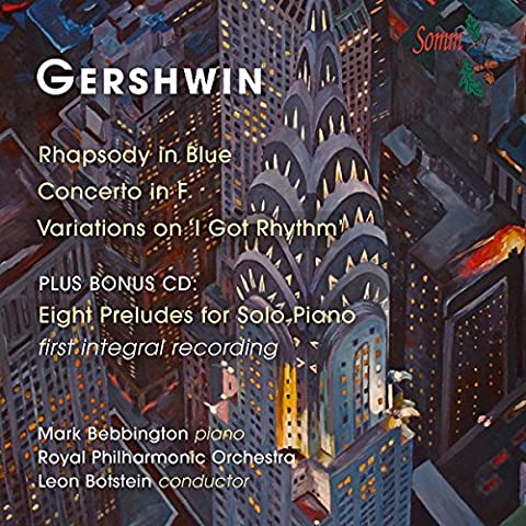 Rhapsody in Blue/Concerto in F/Variations on I Got Rhythm