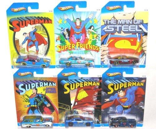 2013-hot-wheels-superman-kroger-exclusive-6-car-set-by-hot-wheels