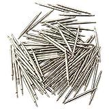 Hits(TM)100 Pcs Barrette Ressort Tige Montre bracelet outil Réparation remover...