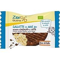 Fior di Loto Gallette di Mais Ricoperte di Cioccolato al Latte, Bio - 32 gr, Senza glutine
