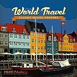 World Travel Classic Posters 2020 Wall Calendar