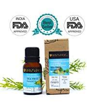 Soulflower Essential Oil Tea Tree Nett Vol, 15ml