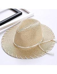 Axiba Señora Verano de Sombrero con Flecos Grande a lo Largo de Sombrero  Sombrero del Sol a0c66297b09