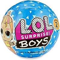 L.O.L. Surprise, Boys - boule 7 Surprises dont 1 Poupée Garçon 8cm, Accessoires, Fonction Eau Surprise, Modèles…