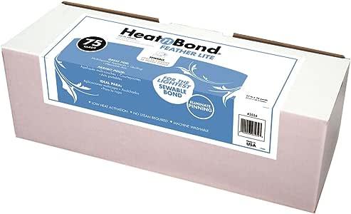 HeatnBond Piuma Lite sewable