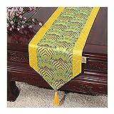 JUNYZZQ Tischläufer Chinesischer Gartentisch Flagge Tischdecke Couchtisch Bett Bett Kabinett Flagge Tisch Lange Tischdecke Europäischen Stoff 30X150 cm