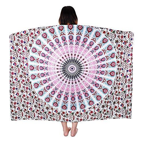 Vbiger telo mare asciugamani mare abbigliamento da mare telo mare donna bikini cover-up