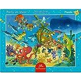 Scatola Puzzle 'Festa in fondo al mare' (24 Pezzi) immagine